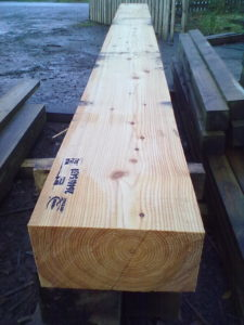 Structural Larch Beam