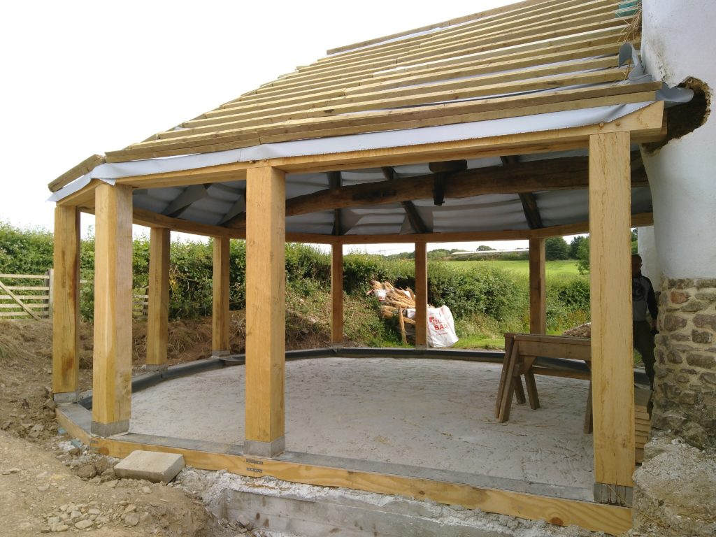 Graded oak posts and beams
